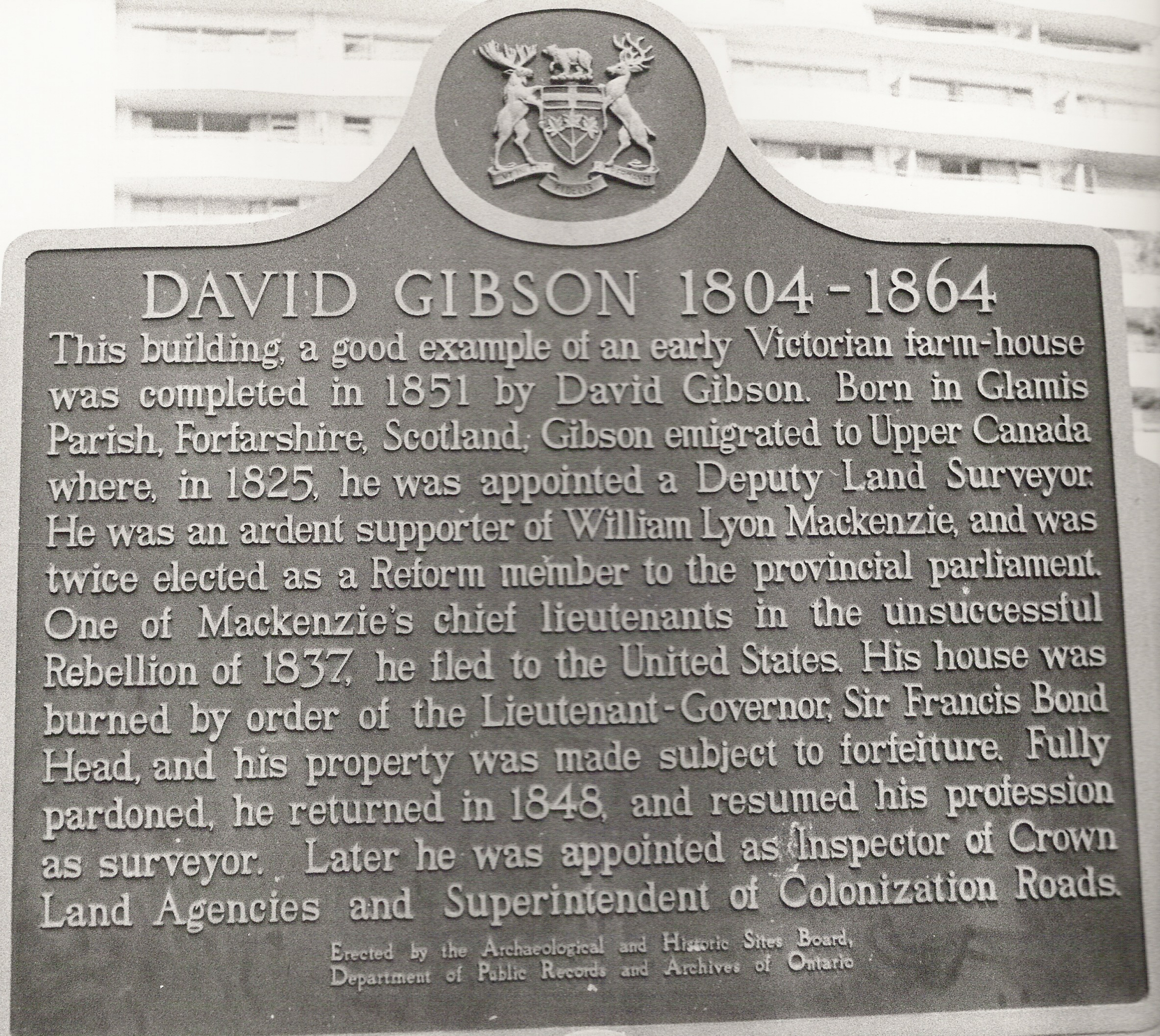 Gibson plaque