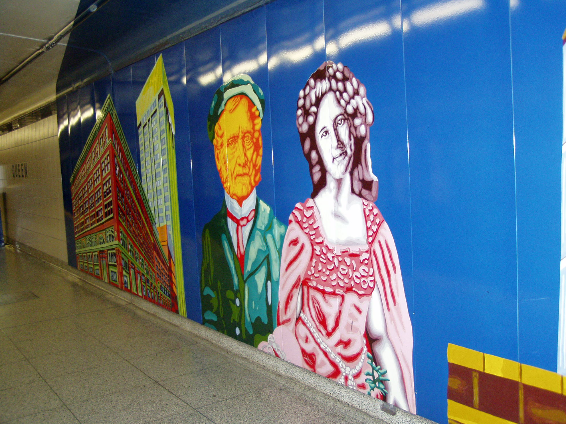 WLM mural - another view